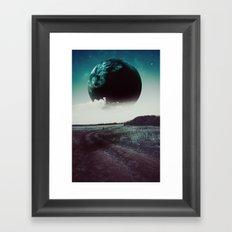 Long way home II Framed Art Print