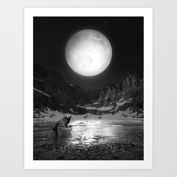 Somewhere You Are Looking At It Too Art Print