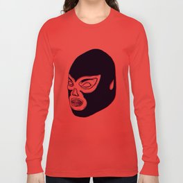 Lucha Libre Mask Long Sleeve T-shirt
