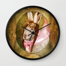 The White Rabbit Wall Clock