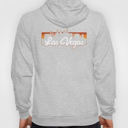 Vintage Las Vegas Nevada Sunset Skyline T-Shirt Hoody
