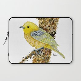 Yellow Warbler Tilly Laptop Sleeve