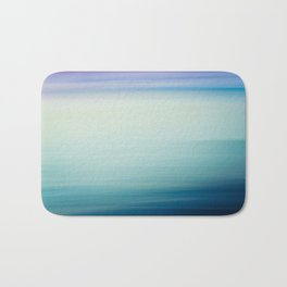I Love the Sea Ombre Abstract Bath Mat