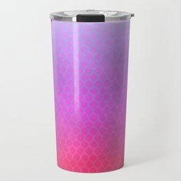 Cateye Gradient Pattern Travel Mug
