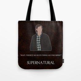Supernatural - Sam Winchester Tote Bag