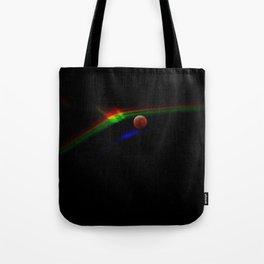 Super Moon Rainbow Tote Bag