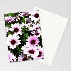 Purple stillness Stationery Cards