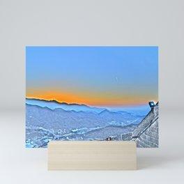 GWOC Skyline Mini Art Print