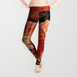 Flamenco Dancer Leggings