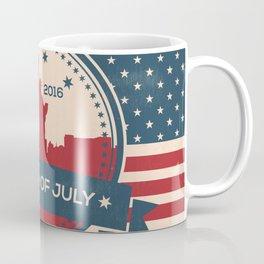 Fourth of July 2016 - New York Celebration Coffee Mug