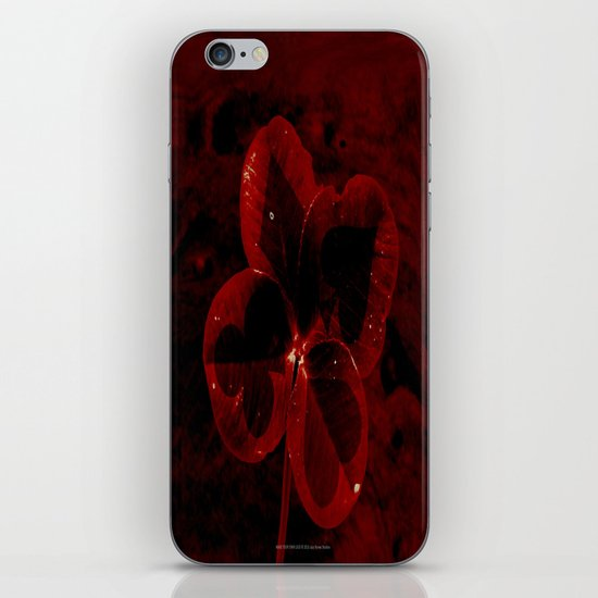 MAKE YOUR OWN LUCK 035 iPhone & iPod Skin