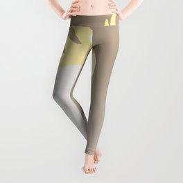 COCKATOO BIRD LOW POLY ART Leggings