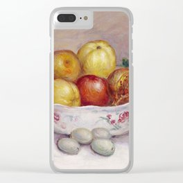 Auguste Renoir - Nature Morte A La Grenade Clear iPhone Case