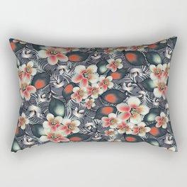 exotic floral Rectangular Pillow