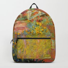 "Claude Monet ""The Japanese Bridge at Giverny"" Backpack"