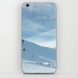mammoth mountain summit. iPhone Skin