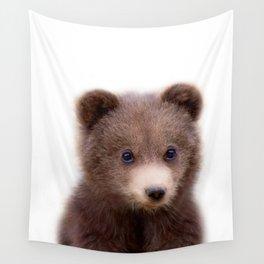 Bear Cub Wall Tapestry