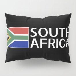 South Africa: South African Flag & South Africa Pillow Sham