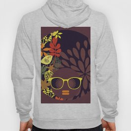 Afro Diva : Sophisticated Lady Deep Hoody