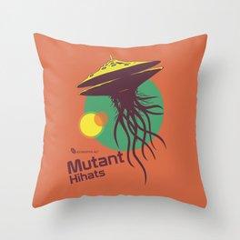 Hexinverter.net – Mutant Hihats Throw Pillow