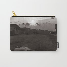 """Maritime Landscape - Old Port - Trapani - Sicily - """"Vacancy"""" zine Carry-All Pouch"""