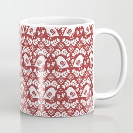 Winter Birds Coffee Mug