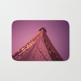 Purple Eiffel  Bath Mat