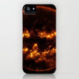 Pumpkin Sun iPhone Case