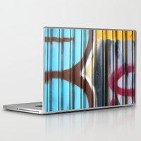 graffiti Laptop & iPad Skins featuring Graffiti by BASEMENT WEST
