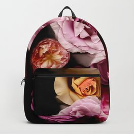 Red, White, Yellow, and Pink Roses Backpack