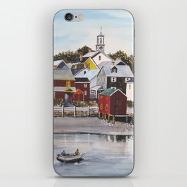Portsmouth Harbour iPhone Skin