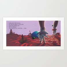 POEM OF VENUS Art Print