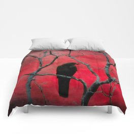 The Color Red Comforters