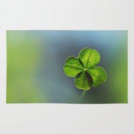 Lucky Four Leaf Clover Rug