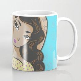 Yellow polka dot bikini Coffee Mug