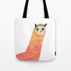 Alpaca, alpaca print, alpaca art, Tote Bag