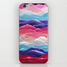 Colour waves II iPhone & iPod Skin