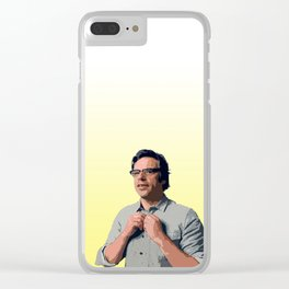 Jemaine Clement 8 Clear iPhone Case