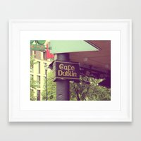 irish Framed Art Prints featuring Irish Pub by Eirin Wie Haveland