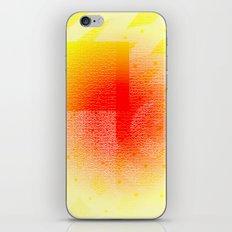 Orange #53 iPhone & iPod Skin