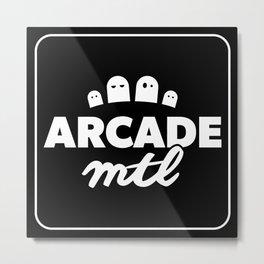 Arcade MTL Metal Print
