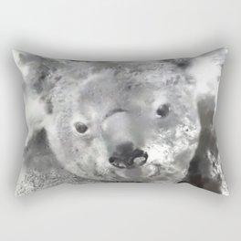 Animals and Art - Koala Bear Rectangular Pillow