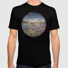 Fernweh Vol 1 Mens Fitted Tee LARGE Black