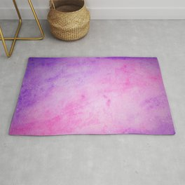 Pink and purple galaxy Rug