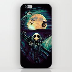 The Scream Before Christmas iPhone & iPod Skin