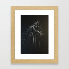 Night Emperor Framed Art Print