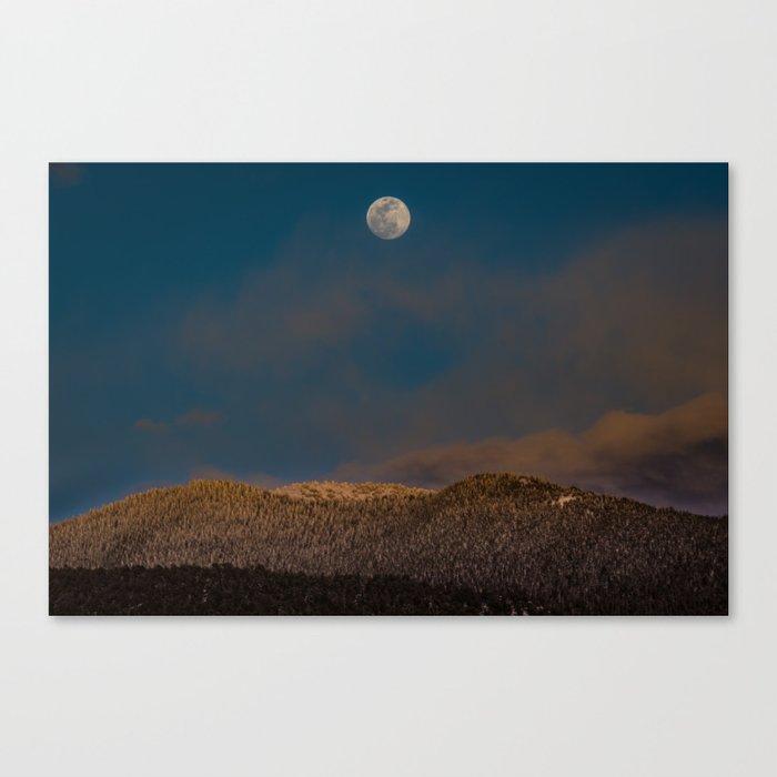 Colorado Moonrise Canvas Print