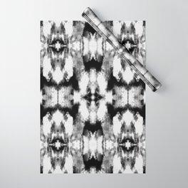 Tie Dye Blacks Wrapping Paper