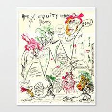 Econographics Canvas Print