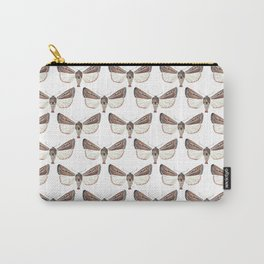 Brown Moths Carry-All Pouch